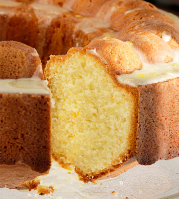 Gluten-free goodie of the week: Glazed orange chiffon cake
