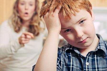 Avoid lowering your child's self-esteem