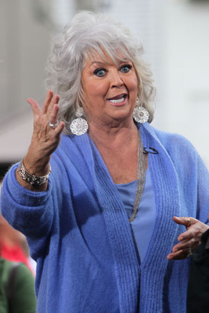 Paula Deen's recipes are really fattening