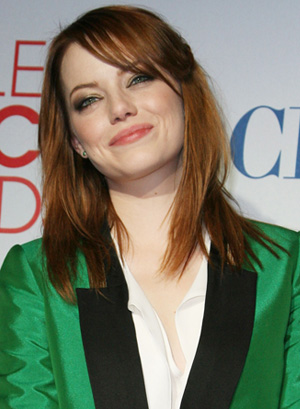 Emma Stone at People's Choice Awards