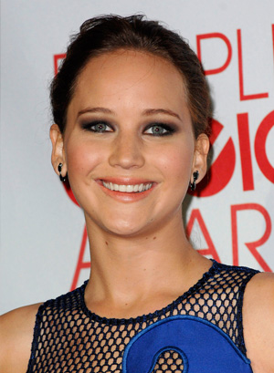 Jennifer Lawrence at People's Choice Awards