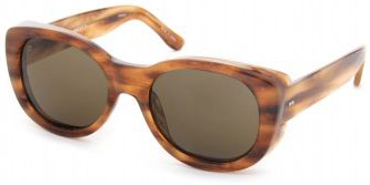 Dries Van Noten retro style tortoiseshell sunglasses