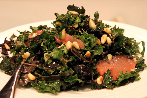 Kale Grapefruit Salad
