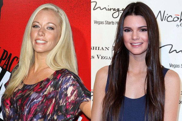Kendra Wilkinson and Kendall Jenner