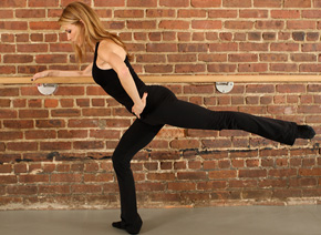 Reverse Leg Lift (also known as ballet arabesque)