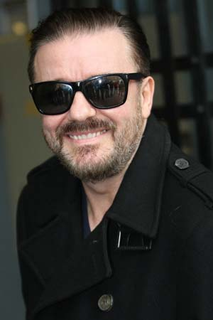 Ricky Gervais talks Golden Globes on Ellen