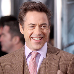 Robert Downey Jr. at Sherlock Holmes premiere