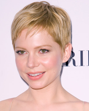 Michelle Williams -- Cropped pixie