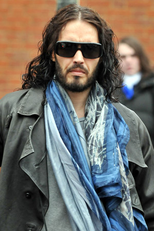 Russell Brand mourns divorce on NYE