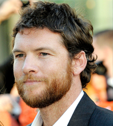 Sam Worthington with a beard