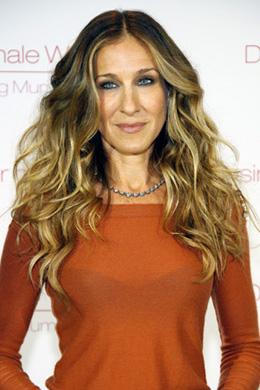 Sarah Jessica Parker's curly hairstyle