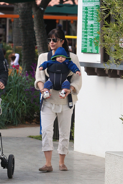 Selma Blair and baby