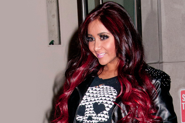 Snooki's new red hair