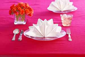 A pretty way to spruce up your tablescape