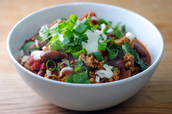 Super Bowl Turkey Chili