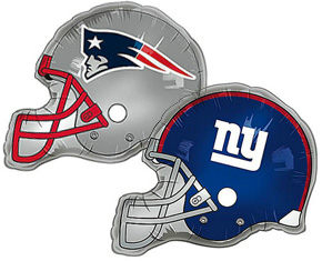 Super Bowl Party balloons