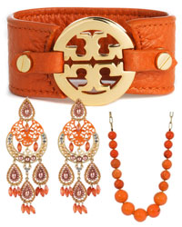 Tangerine Earrings