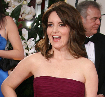 Tina Fey -- 69th Annual Golden Globes