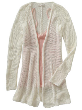 chunky knit cardigan from Old Navy