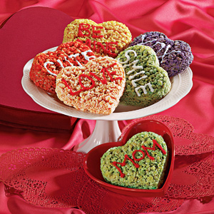 Valentine's Day cutout treats