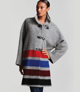 Stylish stripes - Tracy Reese coat