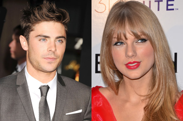 Taylor Swift gets flirty with Zac Efron