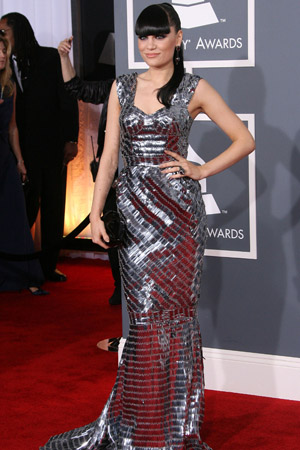 Jessie J Best Dressed at the 2012 Grammy Awards