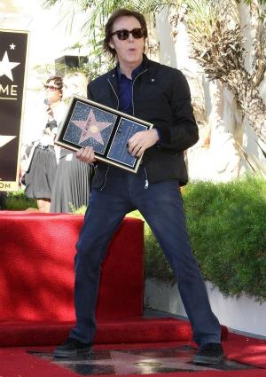 Paul McCartney on the Walk of Fame