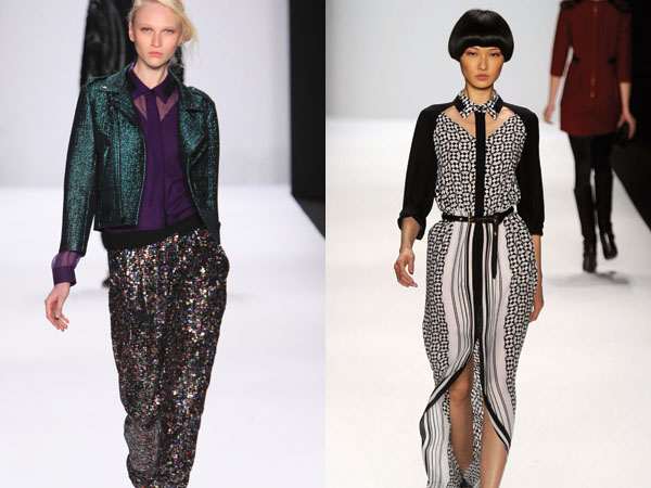 Rebecca Minkoff Fall/Winter fashion collection 2012