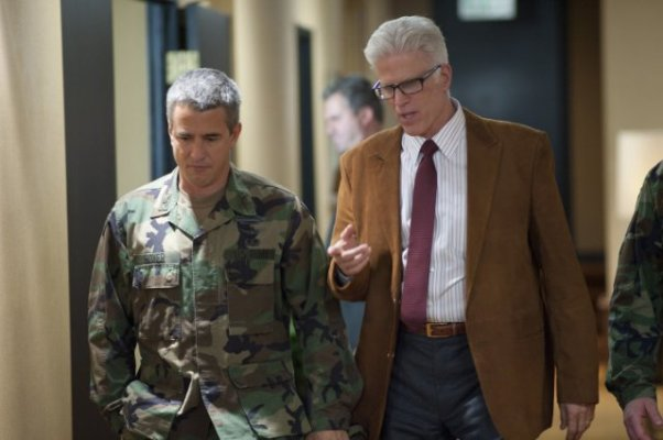 Dermot Mulroney and Ted Danson in Big Miracle