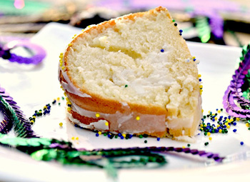 Mardi Gras -- Lighter King Cake