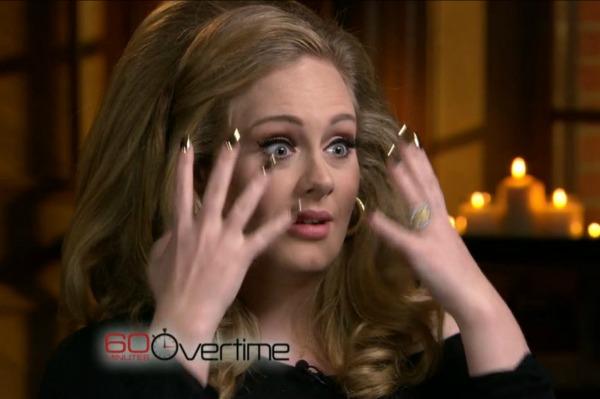 Adele hates her dad