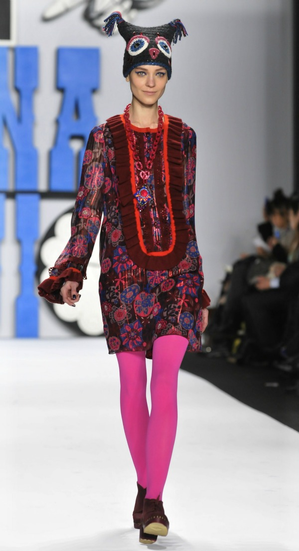 Anna Sui - Fall 2012 Fashion Week