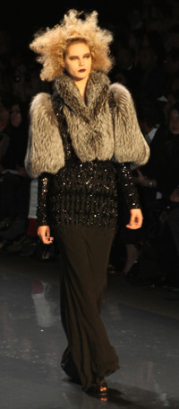 New York Fashion Week 2012 -- Badgley Mischka