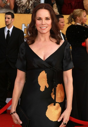 Barbara Hershey gets maternal