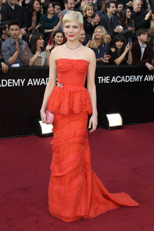 Oscars Best Dressed -- Michelle Williams