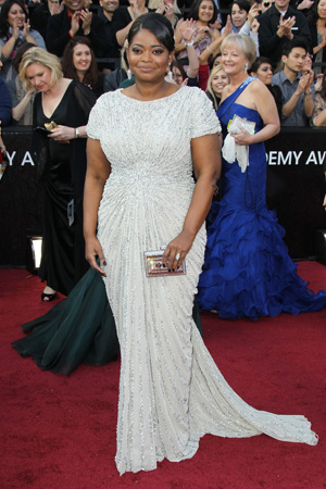 Oscars Best Dressed -- Octavia Spencer