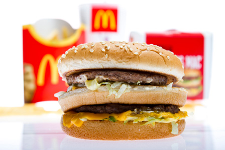 PINK SLIME gone from McDonald's burgers