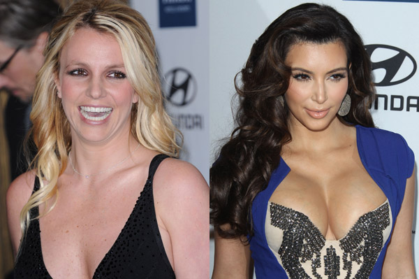 Britney Spears and Kim Kardashian are best friends now