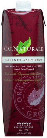 Cal Naturale wine