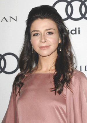 Caterina Scorsone is pregnant too!