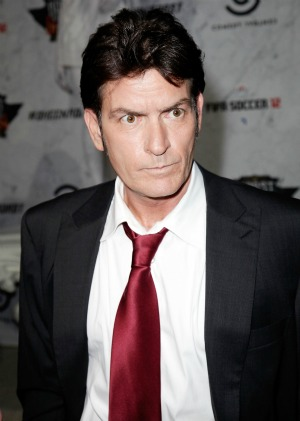 Charlie Sheen gets real