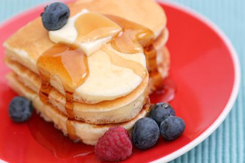 Heart Shaped Pancakes. Making Valentineu0027s ...