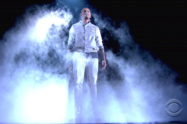 Chris Brown 2012 Grammys