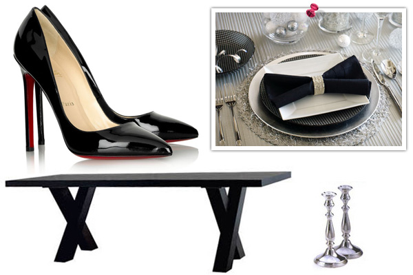 Decorate your home like a shoe designer
