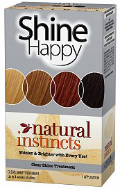 Clairol Natural Instincts Shine Happy Clear Shine Treatment