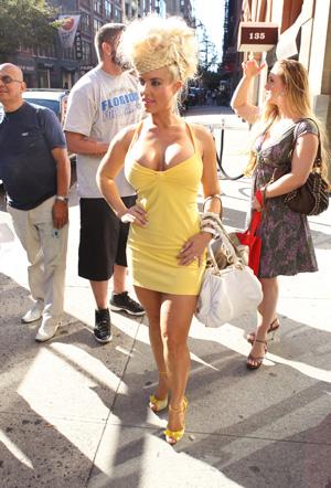 Coco Austin: Fashion week flop