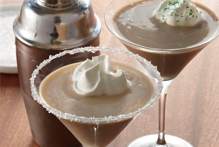 Creamy Irish coffee martini