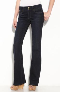 Dark wash denim jeans