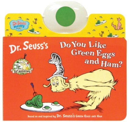 Dr. Seuss Green Eggs and Ham baby and toddler book